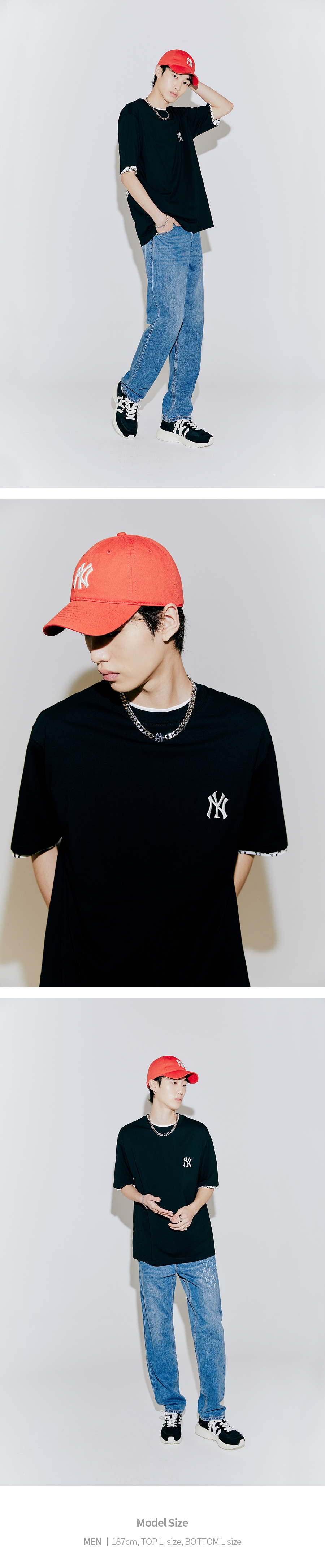엠엘비(MLB) N-COVER 볼캡 NY (RED)