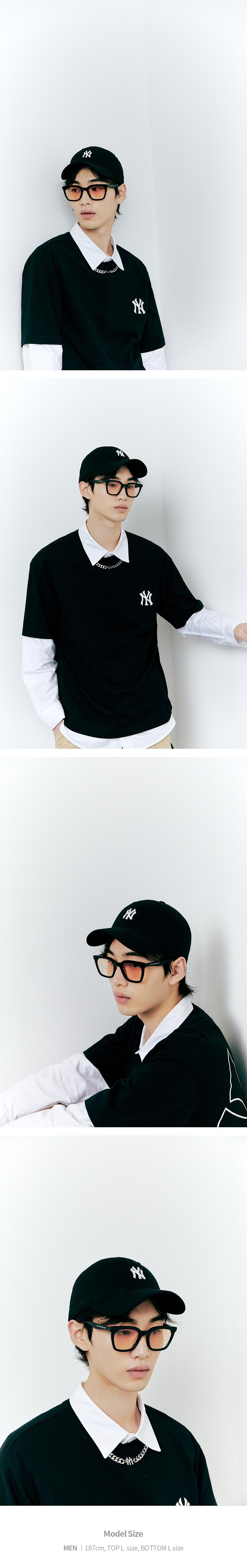 엠엘비(MLB) 루키 볼캡 NY (BLACK)