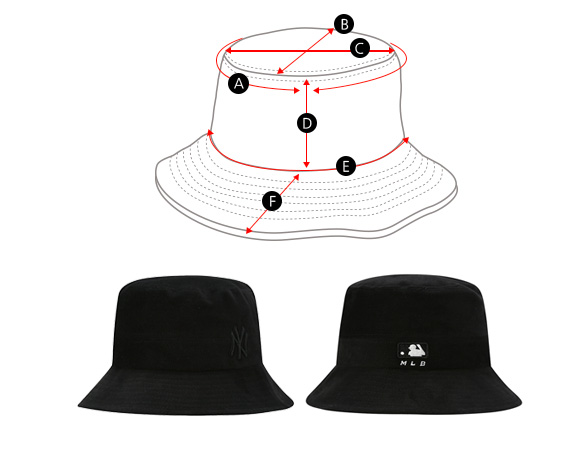 BUCKET HAT(버킷햇)
