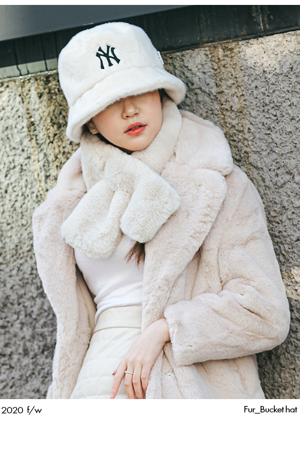 2020 f/w Fur_Bucket hat