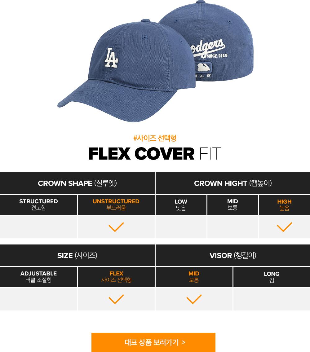 #사이즈 선택형 - FLEX COVER FIT